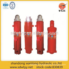 single and double telescopic column hydraulic cylinder for mining