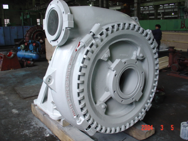 sand and gravel pump