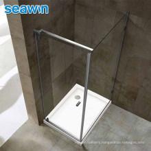 Custom Modern Easy Install 2 Person Enclosed Large Aluminium Alloy Glass Cabin Shower Room