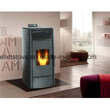 TUV Certified Indoor Using Wood Pelet Stove with Remote Control