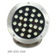 24W LED Unterwasser Licht Schwimmbad Licht Brunnen Licht