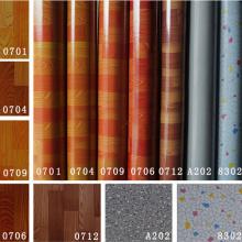 Tapis de revêtement de PVC coloré 0.35mm-2.0mm