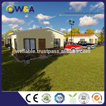 (WAS1013-36D)Steel Structure Shed Prefab House Design Prefabricated Hotel Building