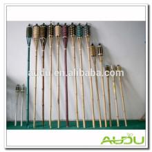 Audu Antena de bambú para vacaciones de jardín / antorcha de bambú