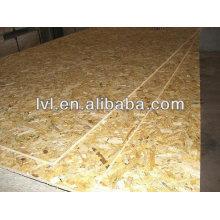 Pino osb -3 para suelo / 12mm impermeable osb para la construcción