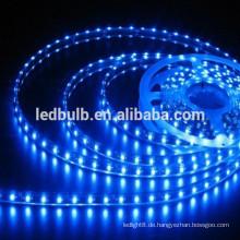 Heiße Verkäufe! 12W hohe Leistung 5m 300smd Streifenlicht DC12 / 24V 150SMD 3528 führte flexible Streifenlampe