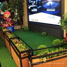 Superficie artificial fácil de poner de alta calidad del césped artificial del jardín que pone