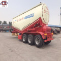 Ciment Fly Ash Bulk Tank Semi Trailer