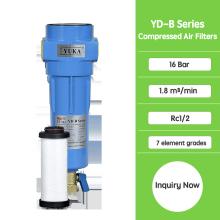 Фильтры с активированным углем для сжатого воздуха YD-B030