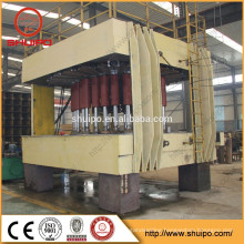 Hydraulic Dished End Configuring Machine/head spinning machine for milk tank/dished end flanging machine
