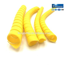 flexible abrasion resistant plastic sprial hydraulic hose protector