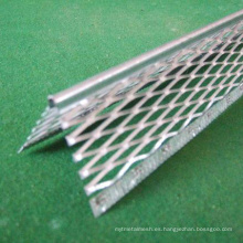perlas de esquina de fibra de vidrio 30 * 30 mm 2.5 m de longitud