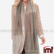 Womens Spring Cashmere Tartan Plaid Long Fashion Scarves and Wraps