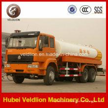 Camión de riego por agua 6X4 HOWO 20tons, 22,000 litros