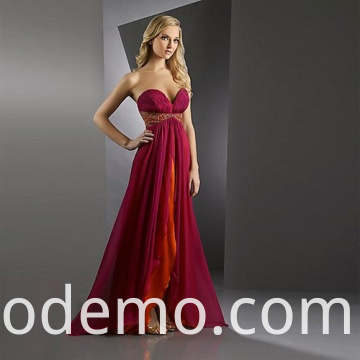 Red Wedding Dress