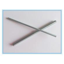 Barra de rosca DIN976 / barra de rosca con galvanizado