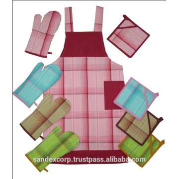 Ensemble de tablier en coton Luxueux