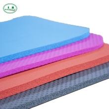 NBR material Eco-friendly body aligning anti slip yogamat