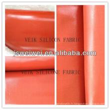Chine fabricant jiangsu silicone tissu avec différentes couleurs et épaisseurs
