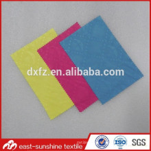 Full logo embossed print Custom Microfiber Cleaning Cloth for Eyeglasses,70% polyester 30% nylon Microfiber glass Cleaning Cloth