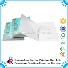 Matt Custom paper a5 file paper folder with 2 pocket