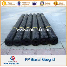 PP Biaxial Geogrids força de tração 40X40kn / M