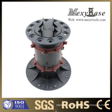 Plastic Screw Jack, Plastic Height Adjstable Decking Floor Pedestal