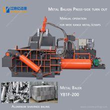 Nueva máquina empacadora de metal de aluminio