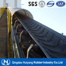 Rubber Chevron Pattern Conveyor Belt Manufacture Ep/Nn/Cc Rubber Belt in Shandong