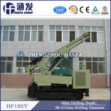 Hf180y equipo de minería de oro, aire DTH pozo de agua de perforación