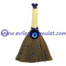 Turkish Evil Eye Home Decoration Broom-Medium