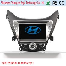 GPS Navigation HD 2 DIN Stereo Lecteur DVD pour voiture pour Elantra 2011