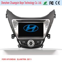 GPS Navigation HD 2 DIN Stereo Car DVD Player for Elantra 2011