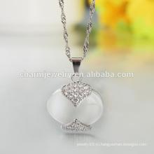 Верхнее качество 2016 самое последнее ожерелье серебра ожерелья способа 925 горячее в западном для женщин SCR010