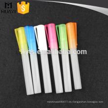 La muestra de alta calidad utilizó frascos de aerosol de perfume de vidrio de 8 ml para viajar