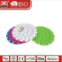 Пластиковый конфеты обслуживающих лоток, пластиковые Фруктовый лоток, яйцо сервера