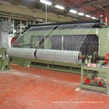 Fabrication de fil hexagonale avec fil galvanisé électro