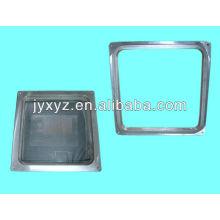 colada de alta presión de aluminio de la cáscara de la aleación de la pantalla