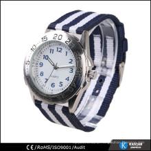 nylon strap japan movt wrist watch