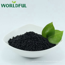 abono bio-fertilizante worldful 16-0-1shiny gránulo / gránulo orgánico