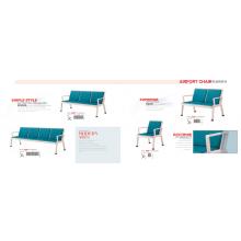 Farbe optionaler kommerzieller öffentlicher Wartestuhl aus Metall