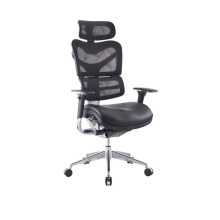 High Quality Boss Office Executive Mesh Ergonomic Office Chair With Headrest