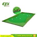 Golf de 3.5m * 1.5m putting green para garde y césped artificial para golf