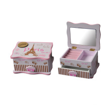 Baby Cute Wooden Box for Home Decoration