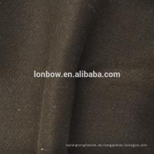 Kaffee Farbe Wolle Viskose Tencel Mischung Stoff für Wollmantel
