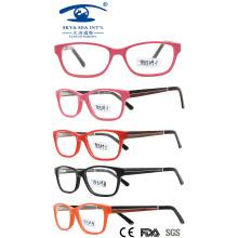 2015 New Style Wooden Temples Eyewear (HK13109)