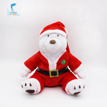 High Quality Soft British Christmas Bear Toy