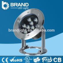 IP68 Нержавеющая сталь 9W светодиодный подводный свет Рыбалка 12 / 24V, CE RoHS