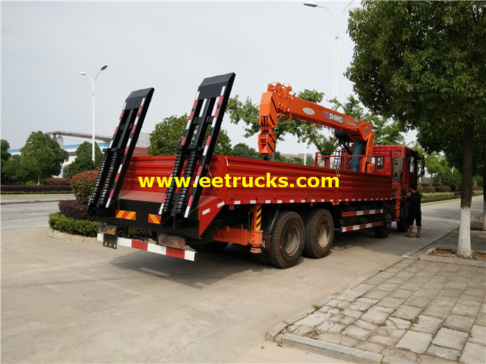 18ton Truck with Crane