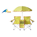 Double Beach Chair With Umbrella